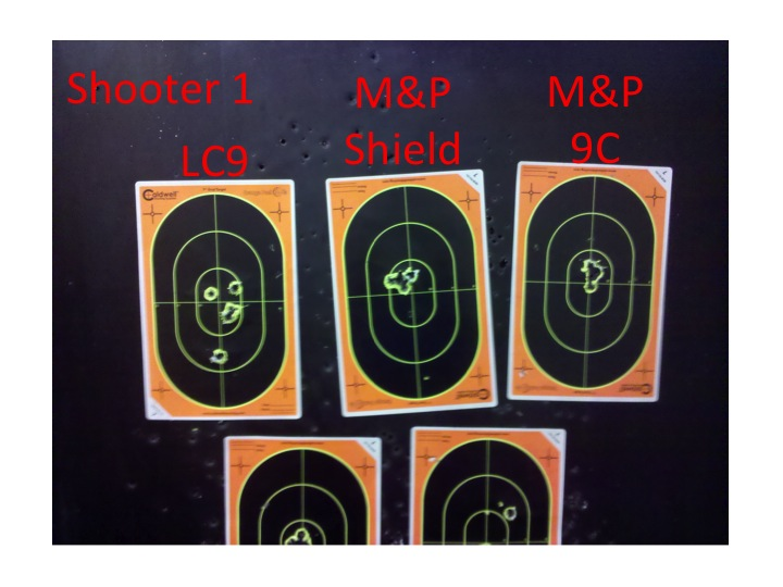 quick review of the smith wesson m p shield vs the ruger lc9 and